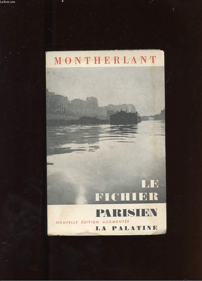 LE FICHIER PARISIEN