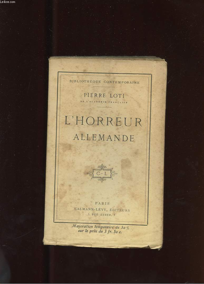 L'HORREUR ALLEMANDE