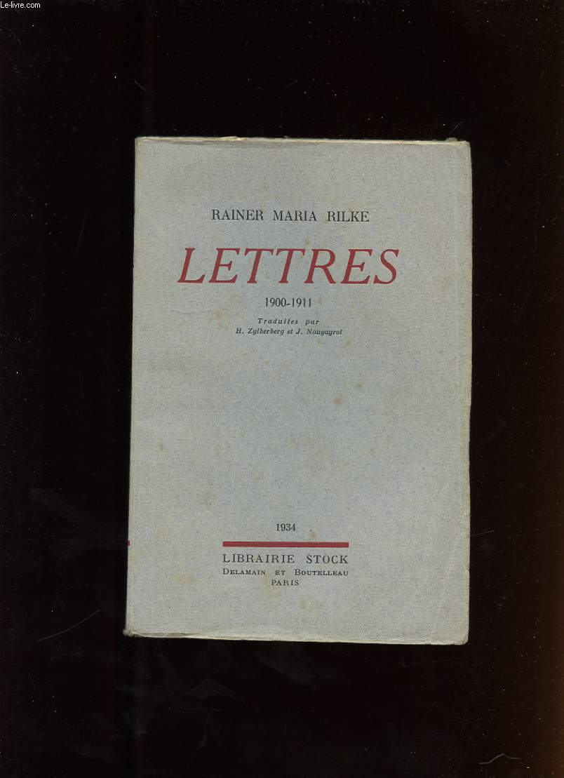 LETTRES (1900-1911)
