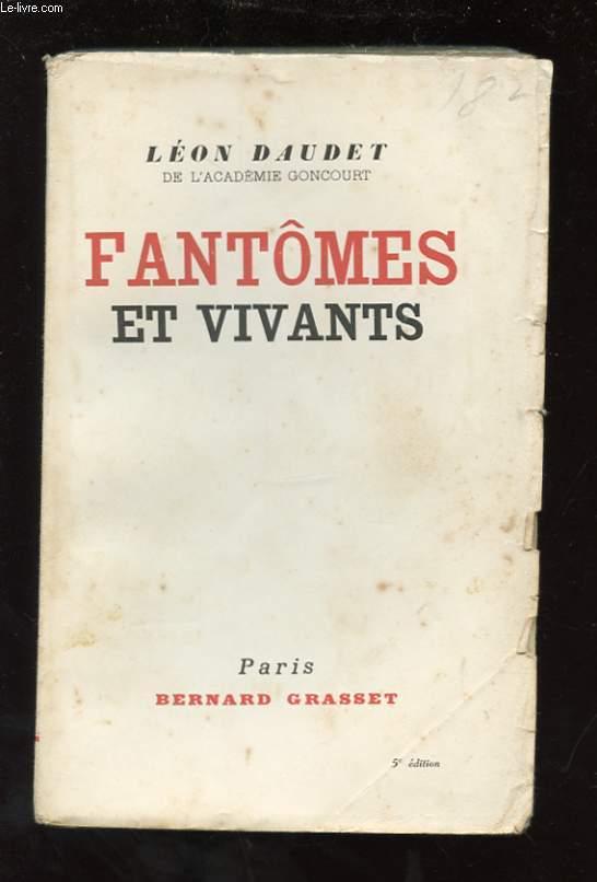 FANTOMES ET VIVANTS