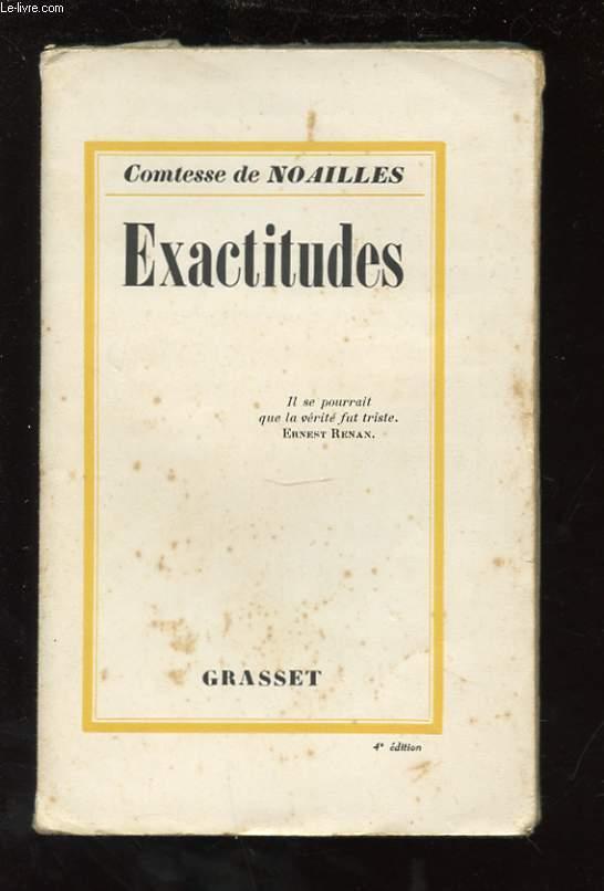 EXACTITUDES