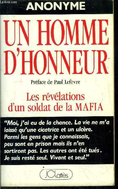 UN HOMME D'HONNEUR