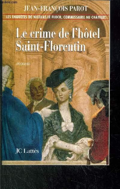 LE CRIME DE L'HOTEL SAINT-FLORENTIN