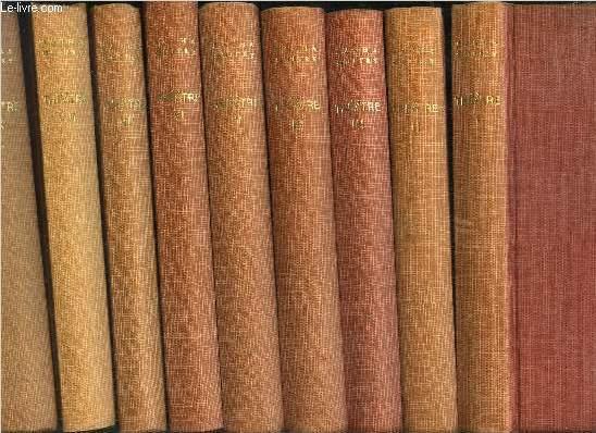 THEATRE - TOME I+II+III+IV+V+VI+VII+VIII+IX / TOME I Mon père avait raison comédie en trois actes - TOME II Quadrille comédie en quatre actes - TOME III Nono Comédie en trois actes - TOME IV Frans hals ...