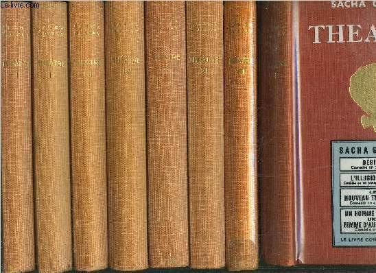 THEATRE TOMEI+II+III+IV+V+VI+VII+VIII / TOME I Mon père avait raison comédie en trois actes - TOME II Quadrille comédie en quatre actes - TOME III Nono Comédie en trois actes - TOME IV Frans hals ou