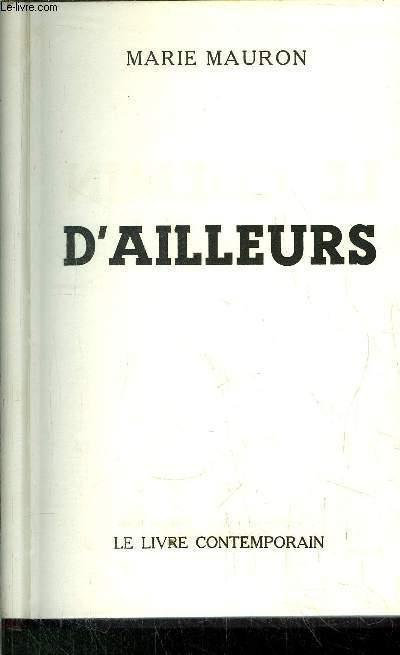 LE CHEMIN D'AILLEURS