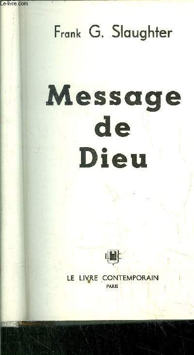 MESSAGDE DE DIEU