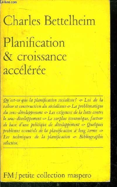 PLANIFICATION & CROISSANCE ACCELEREE - PETITE COLLECTION MASPERO N° 5