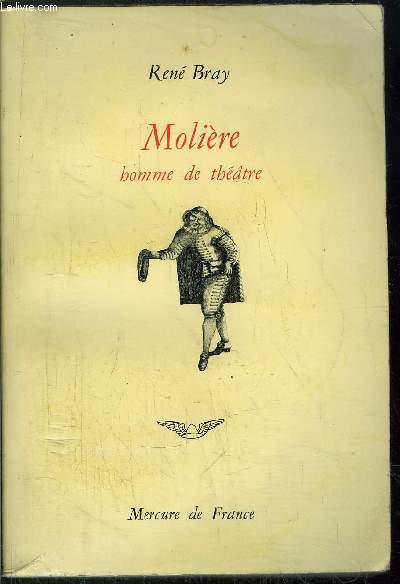 MOLIERE HOMME DE THATRE