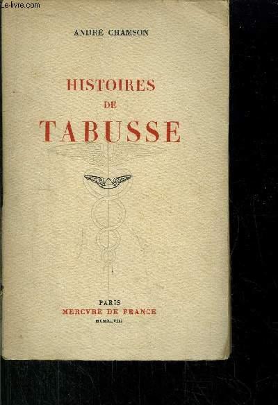 HISTOIRES DE TABUSSE