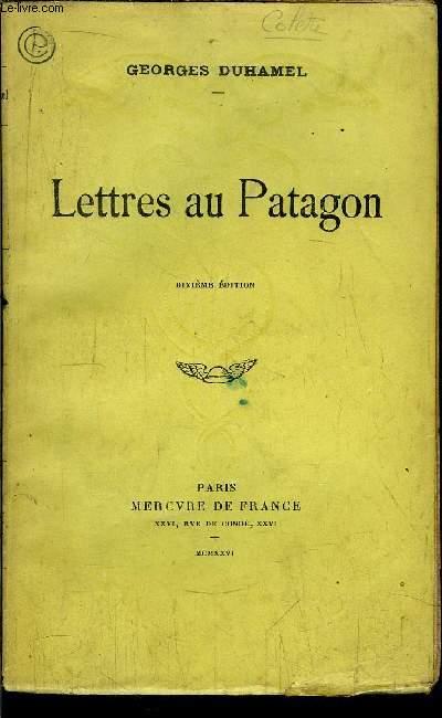 LETTRES AU PATAGON