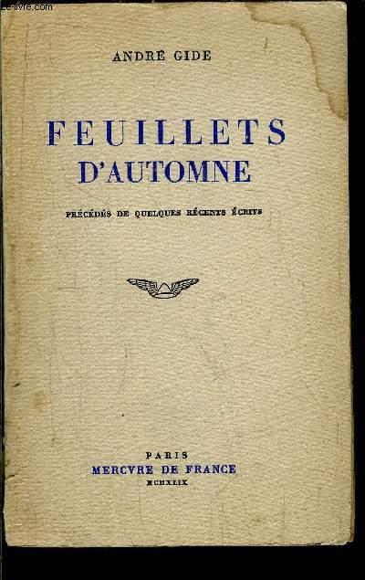 FEUILLETS D'AUTOMNE
