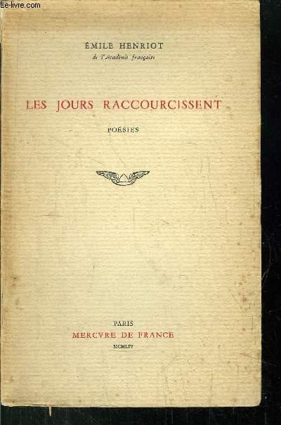 LES JOURS RACCOURCISSENT