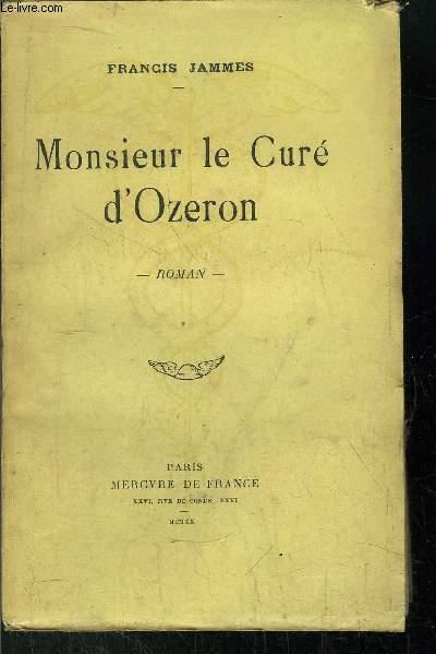 MONSIEUR LE CURE D'OZERON