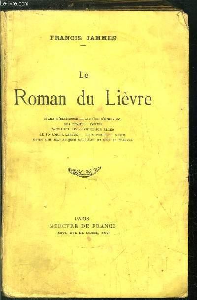 LE ROMAN DU LIEVRE