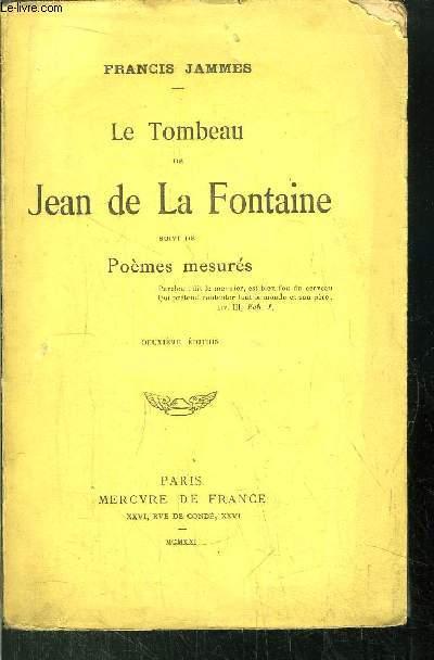 LE TOMBEAU DE JEAN DE LA FONTAINE