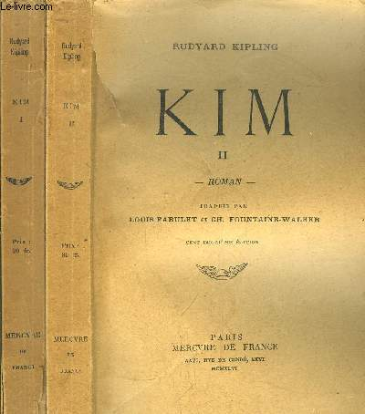 KIM - TOME I +II