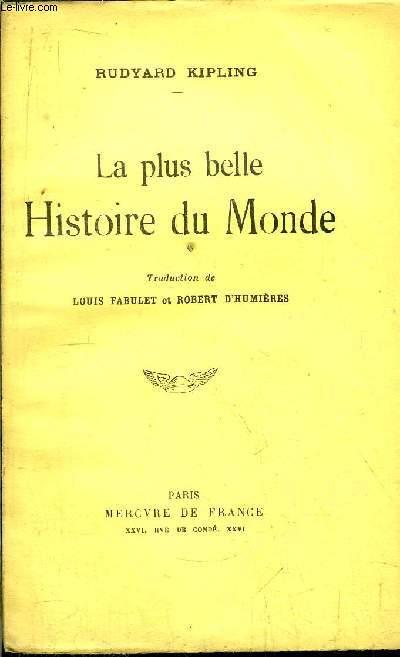 LA PLUS BELLE HISTOIRE DU MONDE