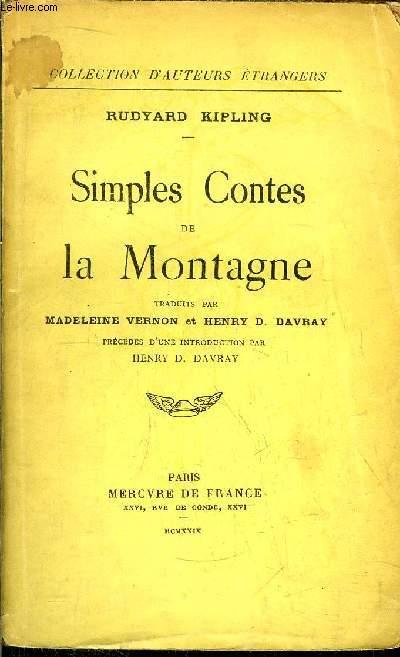 SIMPLES CONTES DE LA MONTAGNE
