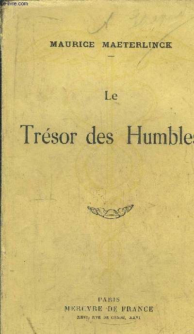 LE TRESOR DES HUMBLES