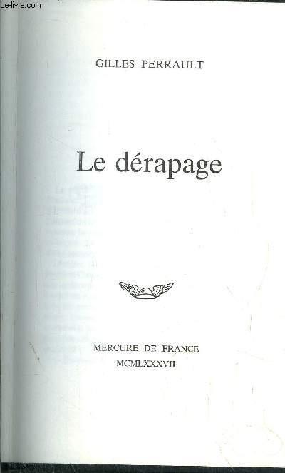 LE DERAPAGE