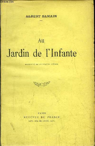 AU JARDIN DE L'INFANTE