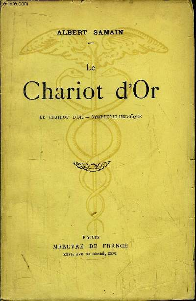 LE CHARIOT D'OR