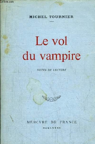 LE VOL DU VAMPIRE