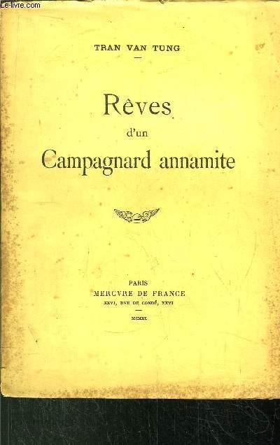 REVES D'UN CAMPAGNARD ANNAMITE