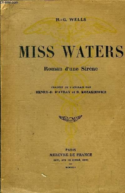 MISS WATERS