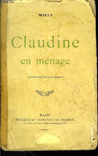 CLAUDINE EN MENAGE