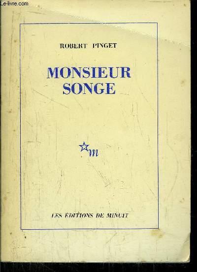 MONSIEUR SONGE
