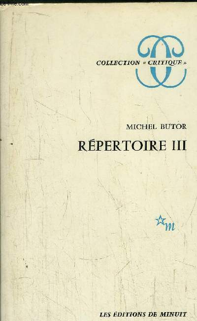 REPERTOIRE III - COLLECTION