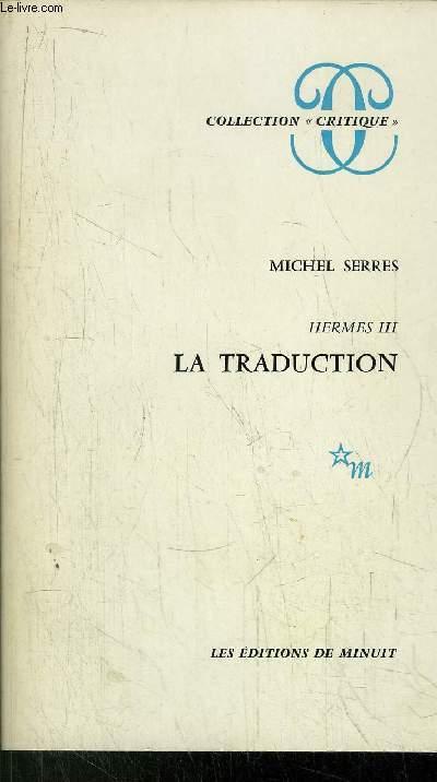 HERMES III - LA TRADUCTION - COLLECTION