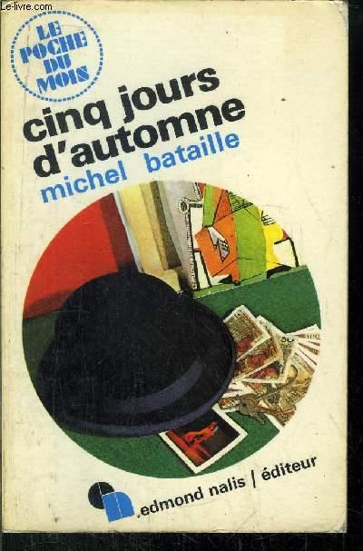 CINQ JOURS D'AUTOMNE - COLLECTION