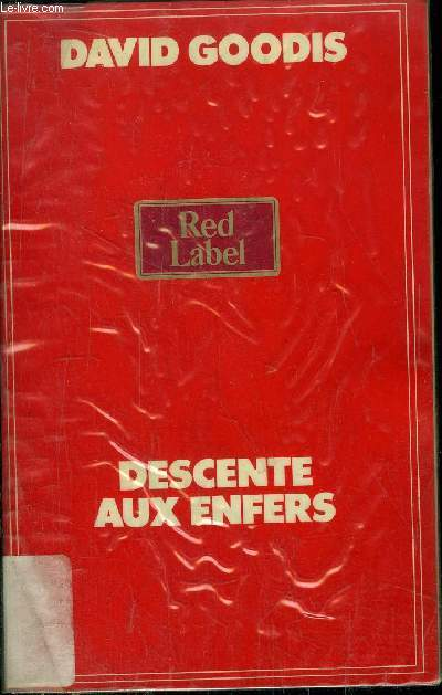 DESCENTE AUX ENFERS - COLLECTION RED LABEL