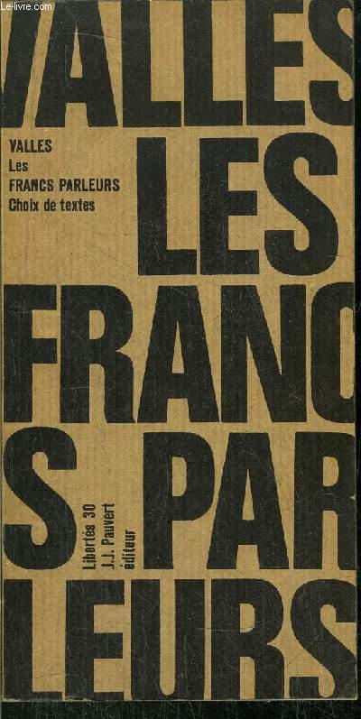 LES FRANCS-PARLEURS - COLLECTION LIBERTE N°30