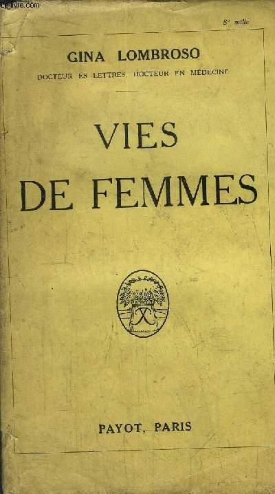 VIES DE FEMMES
