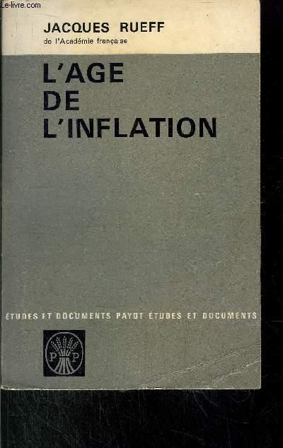 L'AGE DE L'INFLATION