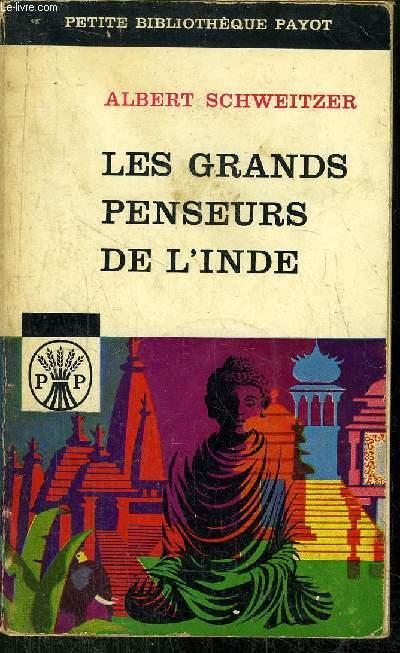 LES GRANDS PENSEURS DE L'INDE
