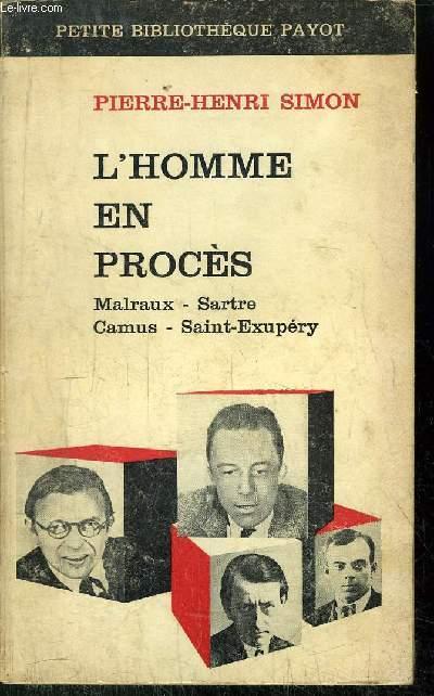 L'HOMME EN PROCES