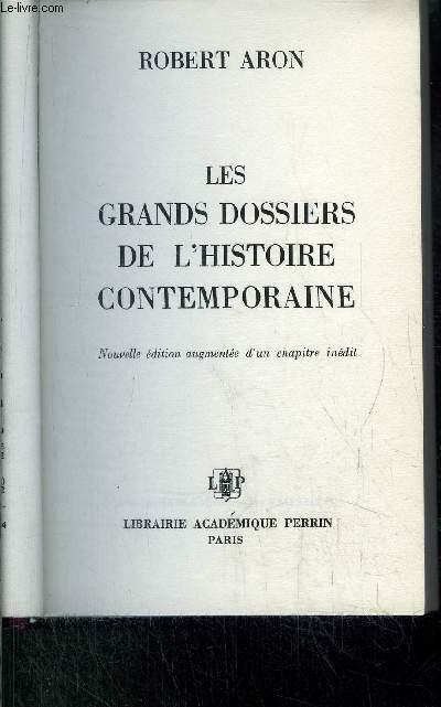LES GRANDS DOSSIERS DE L'HISTOIRE CONTERMPORAINE