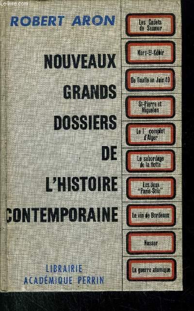 NOUVEAUX GRANDS DOSSIERS DE L'HISTOIRE CONTEMPORAINE