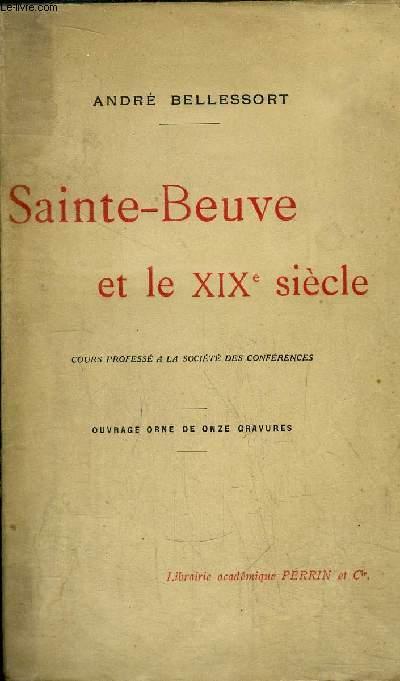 SAINTE-BEUVE ET LE XIXème SIECLE