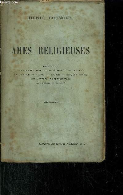AMES RELIGIEUSES