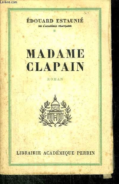 MADAME CLAPAIN
