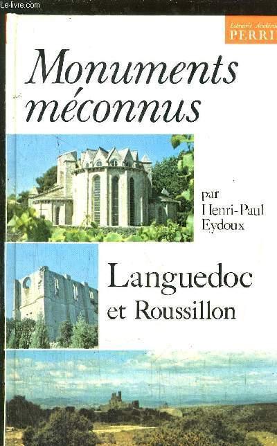 MONUMENTS MECONNUS - LANGUEDOC ROUSSILLON