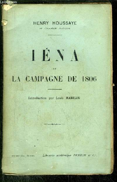 IRENA ET LA CAMPAGNE DE 1806