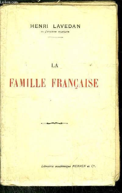 LA FAMILLE FRANCAISE
