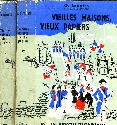 VIEILLES MAISONS, VIEUX PAPIERS - 2 VOLUMES - 4EME ET 5EME SERIE -